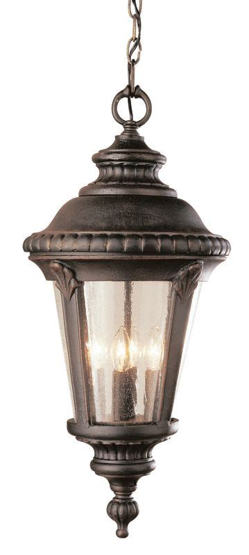 Transglobe Lighting by Trans Globe Lighting 50491 Rt Rust Three Light 22 Inch