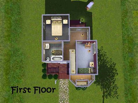 Mod The Sims Big Family Small Budget 5 Mod The Sims Clostrophobic A Small Family House