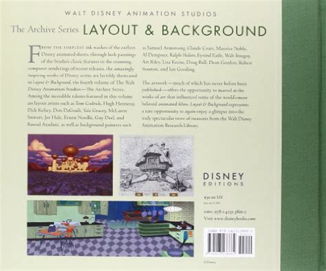 layout animation book walt disney animation studios the archive series layout