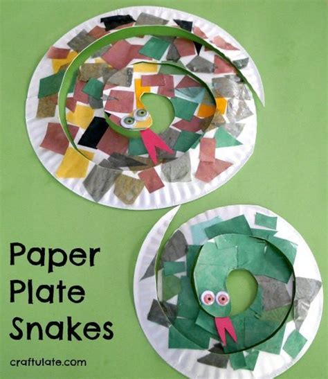 Paper Plate Snake Craft - 361 best images about paper plates on
