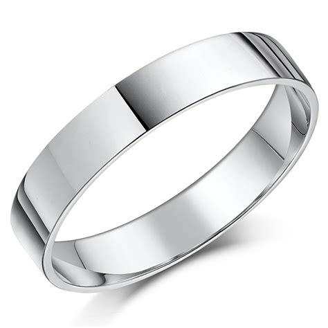 platinum quot flat court quot shaped wedding ring platinum flat