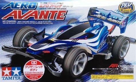 Tamiya Mini 4wd Aero Avante Biru Metal tamiya 95038 1 32 mini 4wd kit ar chassis aero avante