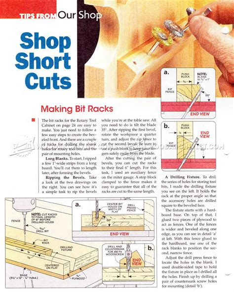 rotary tool cabinet plans � woodarchivist