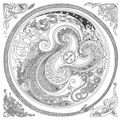 tree mandala coloring pages free coloring pages of mandala tree of life
