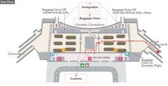 San Francisco International Airport Terminal Map by San Francisco International Airport Terminal Map Airport