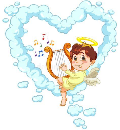 baby shark lyre baby angel playing harp www pixshark com images