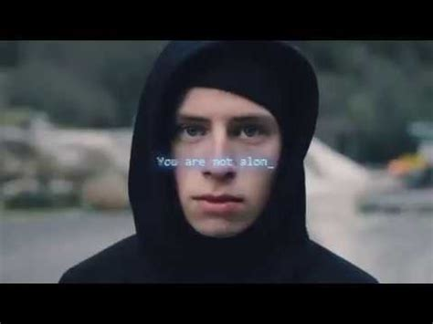 alan walker you alan walker alone you are not alone youtube