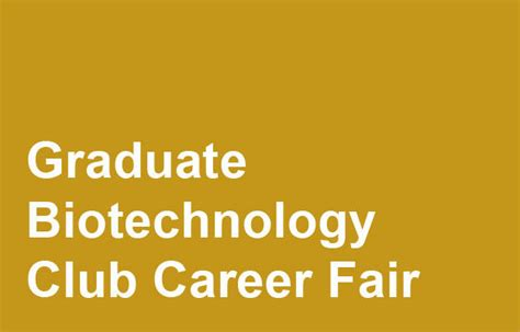 Biotech For Mba Grads by Career Fairs Office Of Career Services