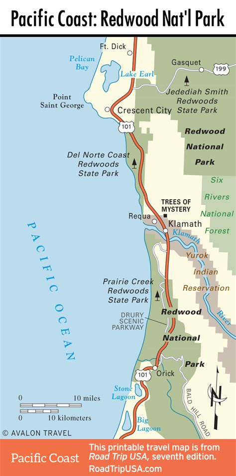 Pch Road Trip Map - pacific coast highway road trip usa