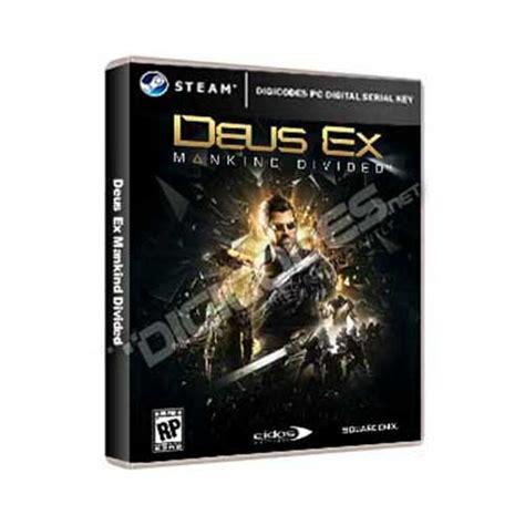 Deus Ex Mankind Divided Steam Original Pc jual pc steam deus ex mankind divided pc serial key murah cepat digicodes net
