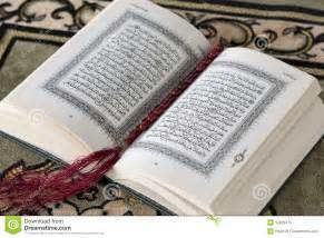 8 X 12 Rug Koran And The Prayer Beads Royalty Free Stock Photo