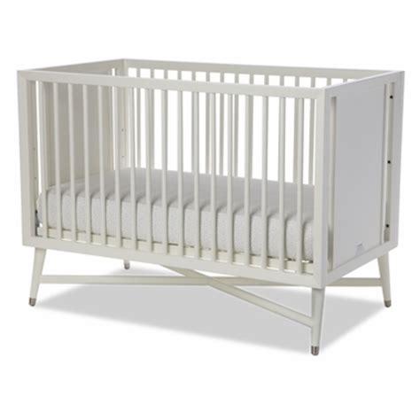 dwellstudio mid century crib in white free shipping