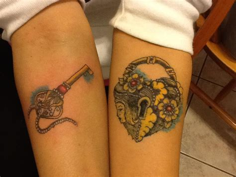 tattoo keys designs lock and key design busbones