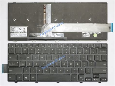 Keyboard Dell Inspiron 14 3000 Series New For Dell Inspiron 14 5000 14 5447 Series Laptop