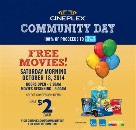 cineplex free movie day things to do in vancouver this weekend inside vancouver blog