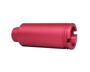 ar 15 slim line cone flash can (red) part #: cone fh s red
