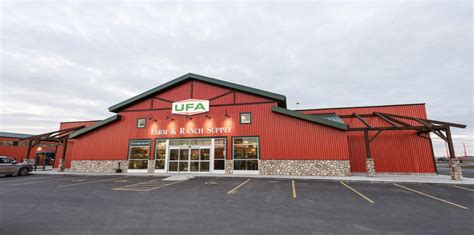 Ufa Sheds by Ufa Farm Co Operative Canam Buildings