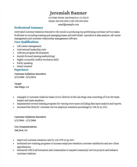 28 customer relationship executive resume client relationship manager resume template premium