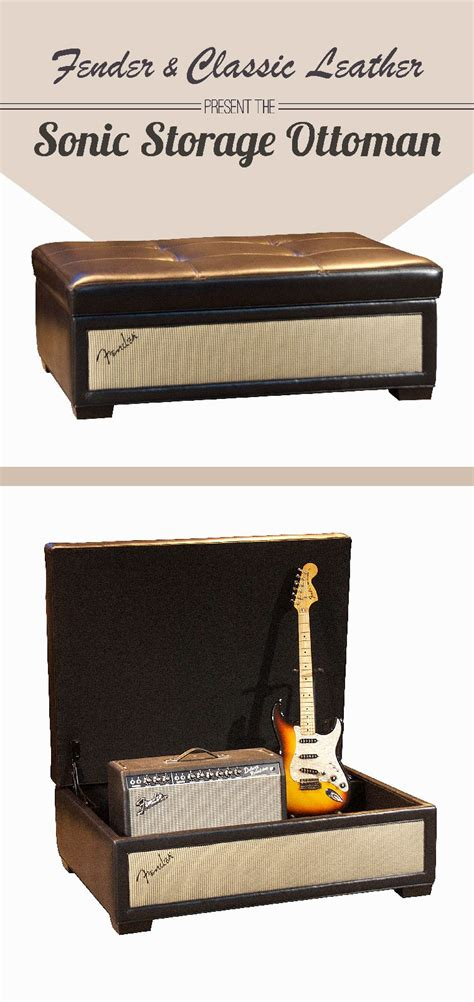 Fender Furniture The Sonic Storage Ottoman Is For