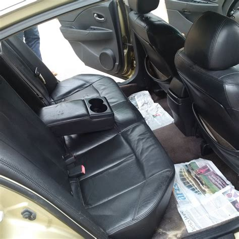 Nissan Altima Black Interior by 2005 Nissan Altima Tincan Cleared With Black Leather