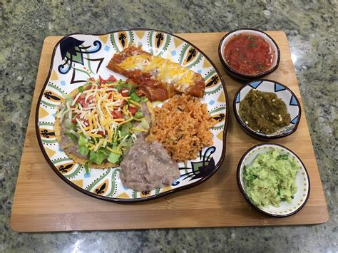 family dinner with mexican cuisine manjula s kitchen