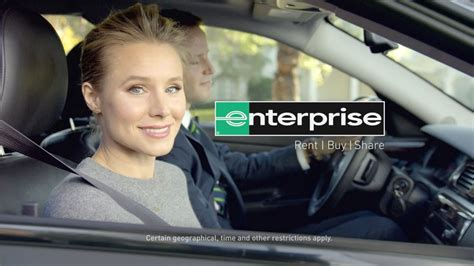enterprise commercial actresses kristen bell for enterprise tv commercial the celebrity