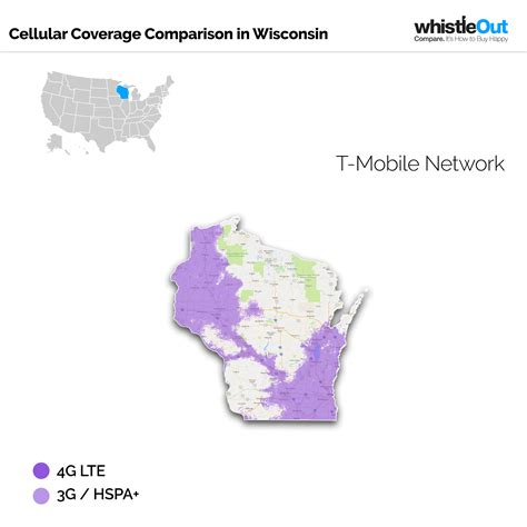t mobile coverage map usa best cell phone coverage in wisconsin whistleout