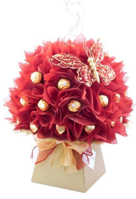 1000  ideas about Chocolate Bouquet on Pinterest   Candy