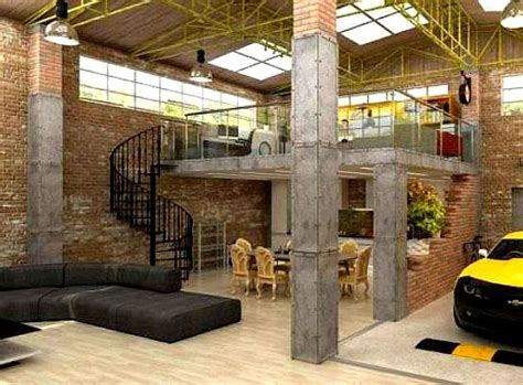 Loft Garage by Industrial Loft Apartment Garage Https Www