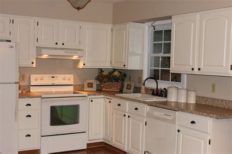 Cream Painted Kitchen Cabinets | blue or cream help love of family home