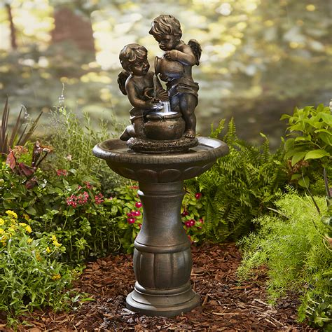 Patio Fountains by Garden Oasis Cherubs Limited Availability