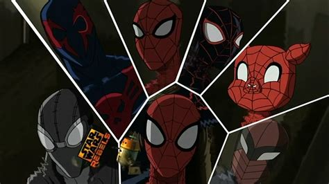 imagenes de ultimate spider man web warriors a spoiler filled walk on the great web of spider verse