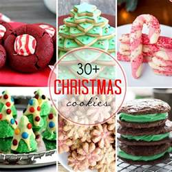 30 christmas cookies that skinny can bake