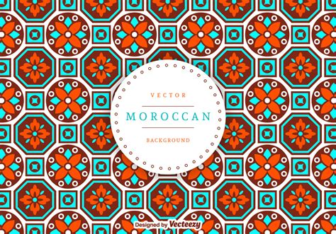 moroccan pattern ai moroccan background vector free vector download in ai