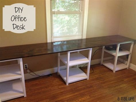 thin l shaped desk best 25 diy office desk ideas on desk storage