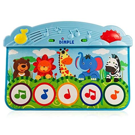 Piano Kick Mat by Zoo Animal Kick And Touch Musical Baby Piano Mat For The