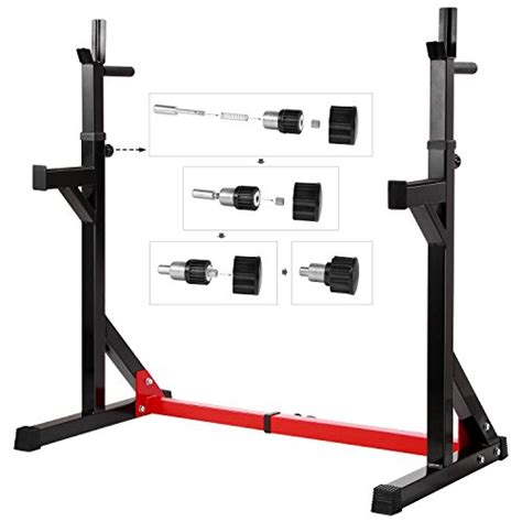 squat stand and bench ollieroo multi function barbell rack dip stand gym family