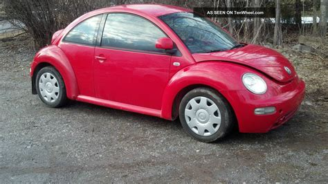 1999 Volkswagen Beetle Gls Hatchback 2 Door 2 0l