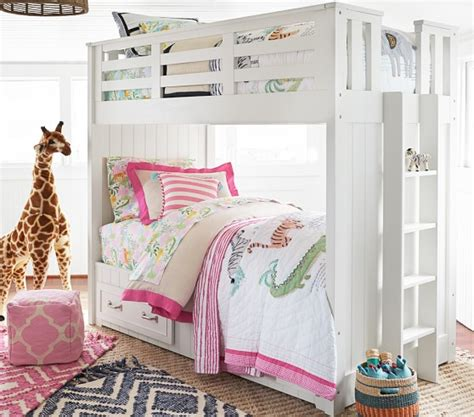pottery barn kids twin bed belden twin over twin bunk bed pottery barn kids