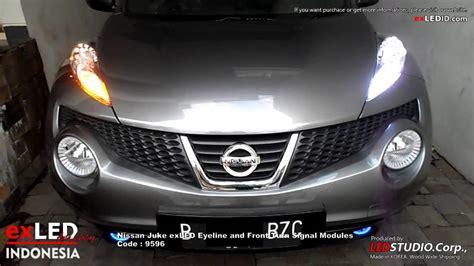 Lu Led Nissan Juke nissan juke exled eyeline and front turn signal modules