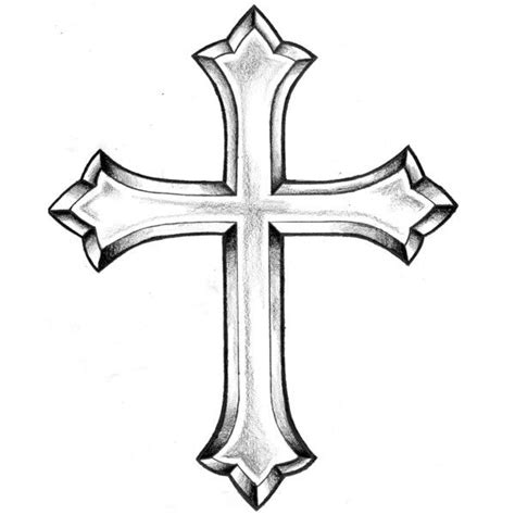 holy cross tattoo collection of 25 cross designs