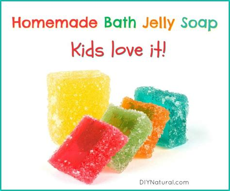 jelly soap a diy recipe for bath jelly soap that the