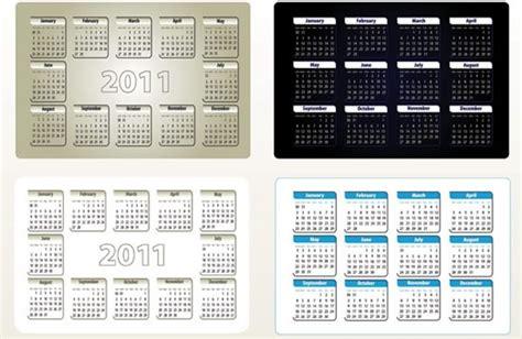 free calendar templates for adobe illustrator 2011 beautiful calendar template vector free vector in