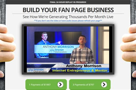 fan page domination review fan page domination review is it a scam dale rodgers