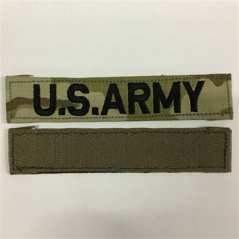 scorpion pattern name tapes u s army name tape for scorpion w2 ocp uniform