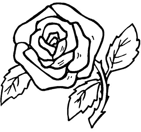 free printable rose coloring pages az coloring pages