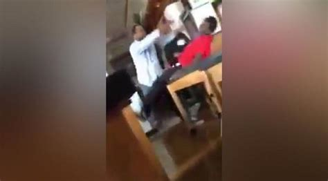 teachers aide arrested after video of attack emerges video shows teacher s aide assaulting 14 year old student