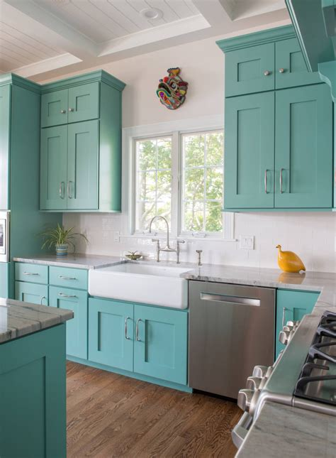 Turquoise Painted Kitchen Cabinets Sherwin Williams Composed Sw 6472 Paint Colors Pinterest Turquoise Kitchen Cabinets