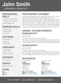 Resume Portfolio Template by Professional Resume Template Cover Letter Portfolio