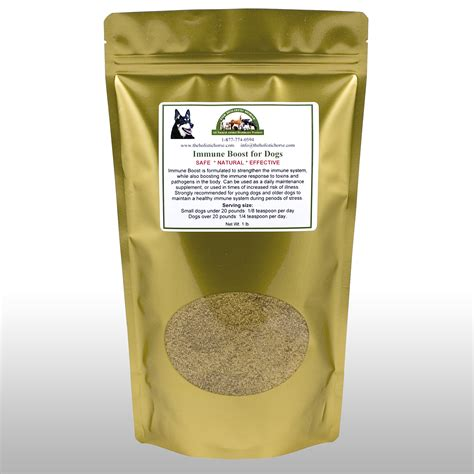 Imune Booster immune boost for dogs 1 lb the holistic